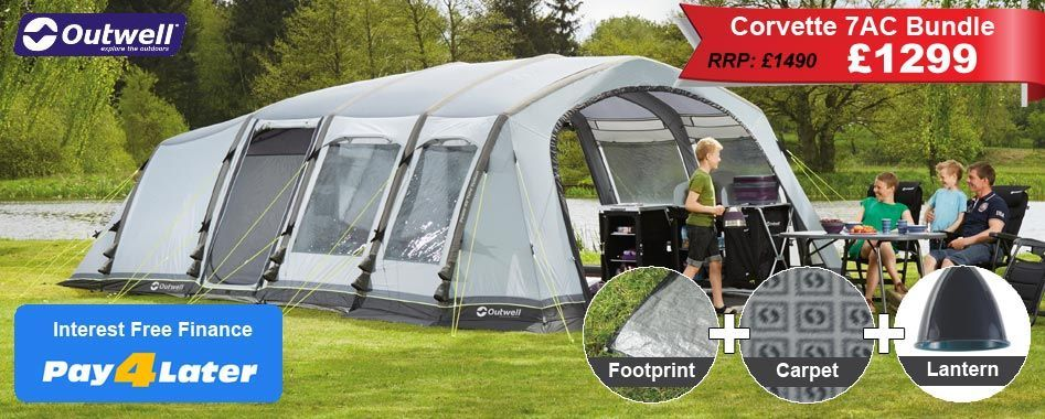 """""""£1299 for Tent, Carpet and Footprint"""
