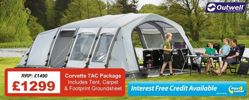 """£1299 for Tent, Carpet and Footprint"