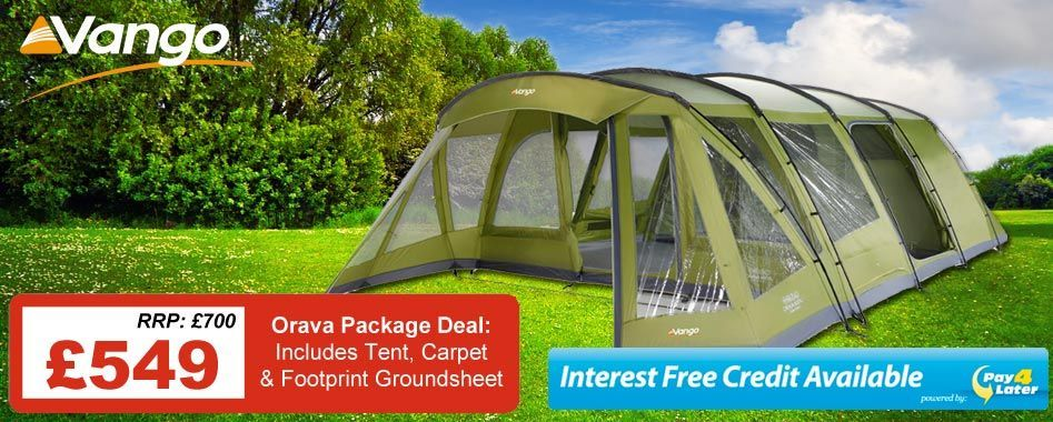 £550 for the tent, £549.99 for the full package