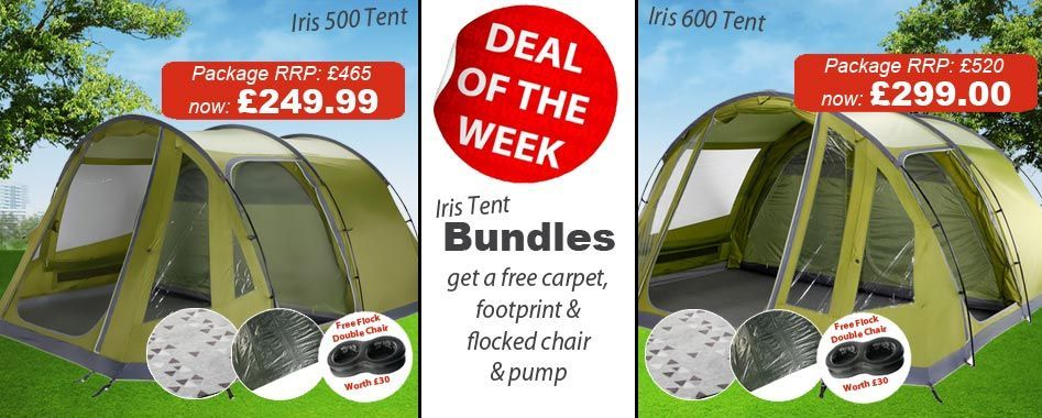 """Package including tent, carpet and footprint"