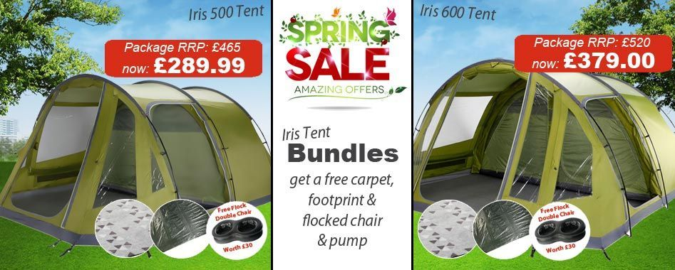 """""""Package including tent, carpet and footprint"""