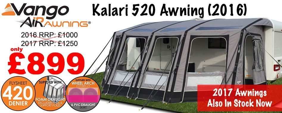 Caravan awnings available now