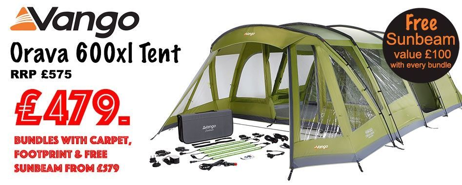 Free Sunbeam with every tent package