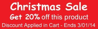 20% Off this item applied in basket