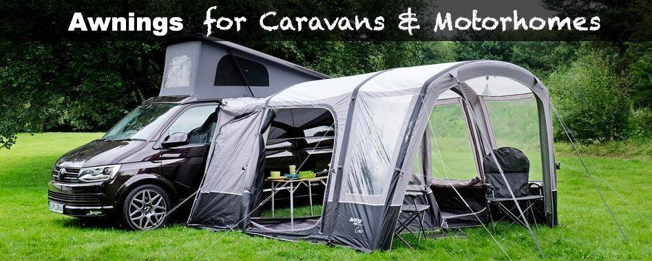 A range of vehicle awnings