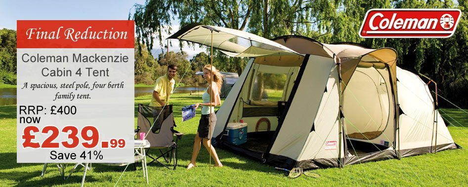 Mackenzie 4 Tent and Package Deal