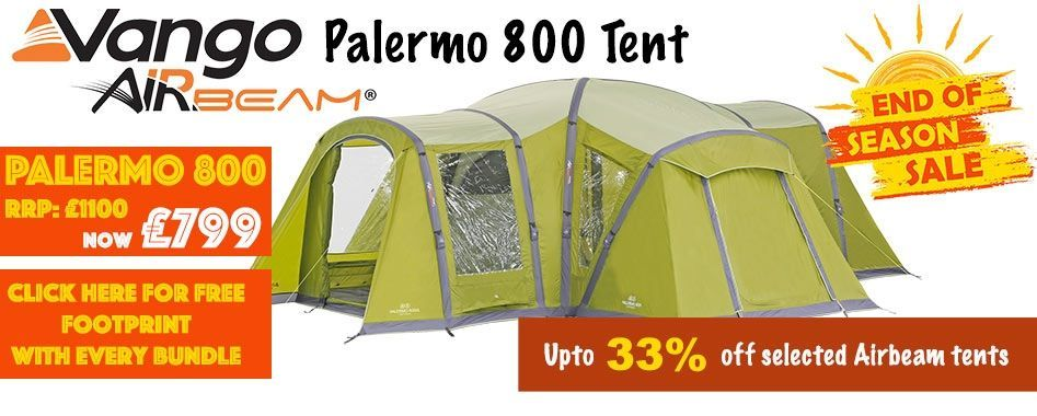 Free footprint with each tent