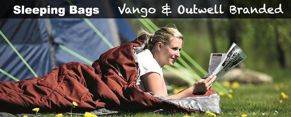 Vango and Outwell sleeping bags
