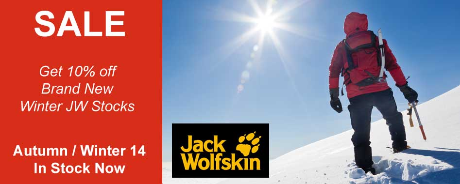 Jack Wolfskin 2014 now in stock