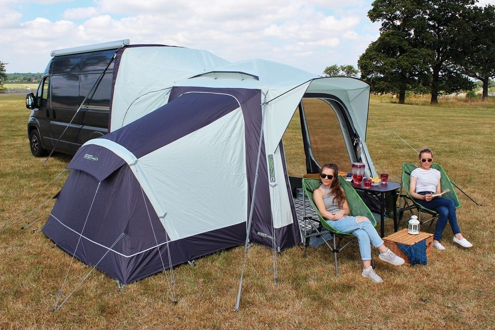 Lichfield California Drive Away Air Awning Delica Van Awning Campervan