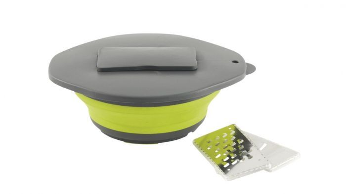 Bowl, Grater and Lid