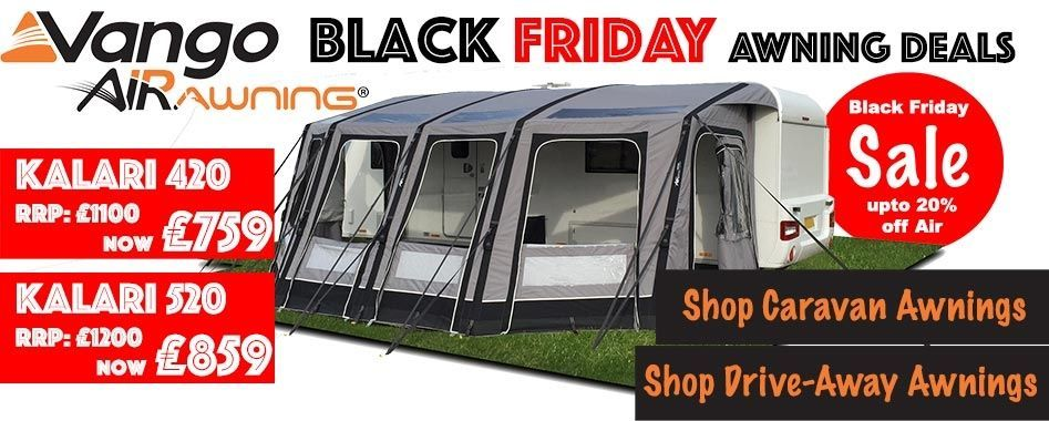 A range of Drive-Away and Caravan awnings