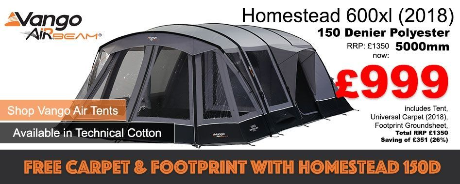 Just 999.00 for tent, carpet and footprint