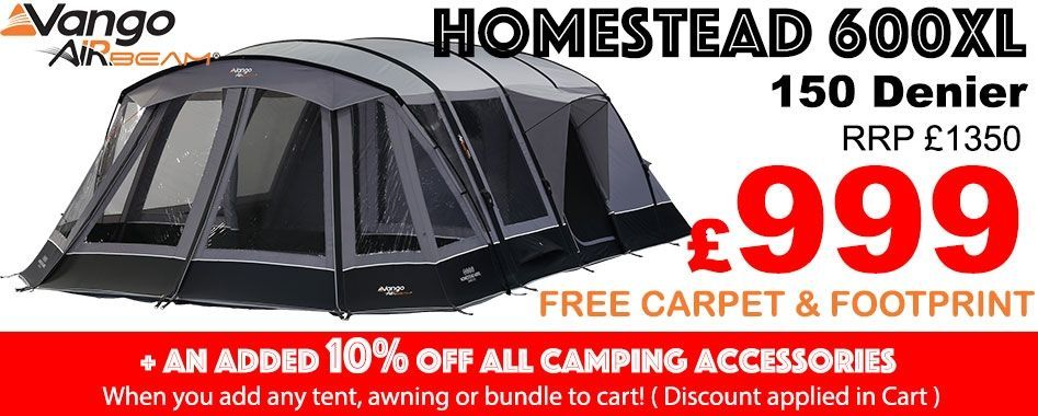 6 Man Tent with 150 Polyester Denier