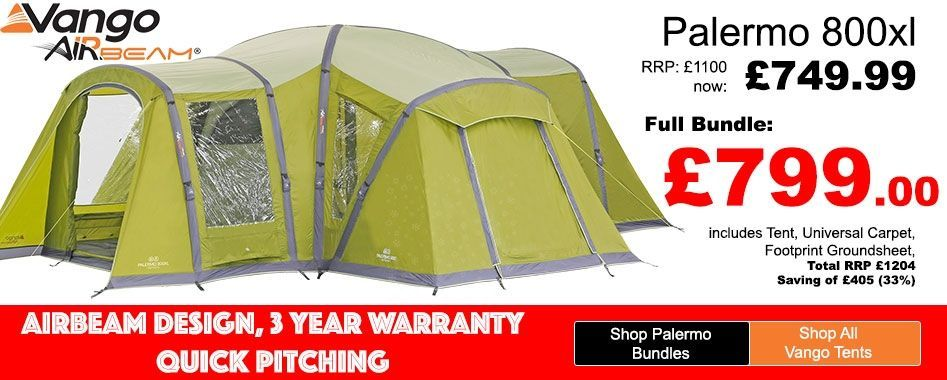 Including carpet, footprint and awning