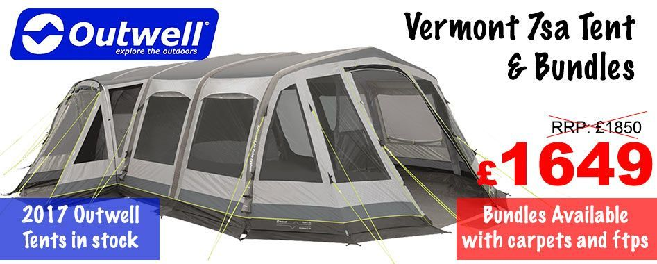 Air tent by Outwell, best selling tent in 2016