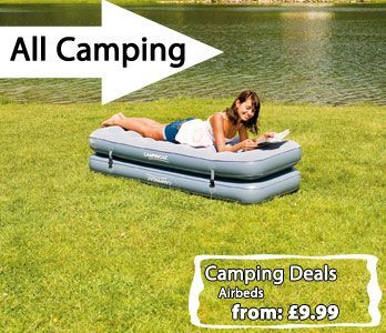 We have a massive collection of camping equipment in stock now.