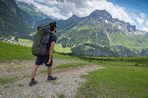 A collection of rucksacks ideal for DofE and travelling